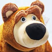 Маша и Медведь игрушка мягкая, мишка большой 75 см