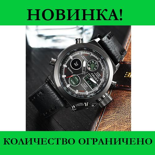 Мужские часы AMST Черные