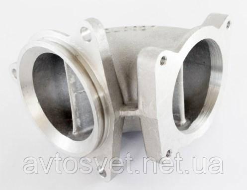 Патрубок впускного коллектора Газель NEXT,Бизнес дв.Cummins ISF 2.8 (воздуховод) алюминий (покупн. ГАЗ) 5253505