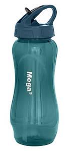 Бутылка спортивная пластиковая Tritan 0,65 л, MT065DS, голубая