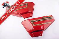 Пластик   Alpha   боковая пара на бардачок   (красные)   KOMATCU