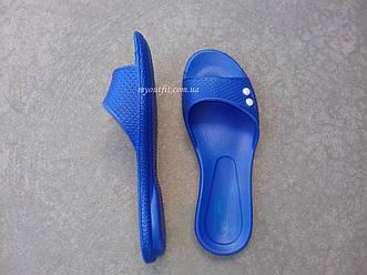 Женские сланцы синие Размеры 36-40