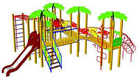 Детский игровой комплекс «Тропики» БК-708Т