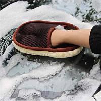 Рукавица из искусственной шерсти для ручной мойки/уборки автомобиля