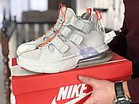 Кроссовки Мужские Хит Весна Серые в стиле Nike Air Force