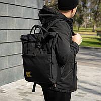 Роллтоп городской рюкзак сумка MOON ROVER
