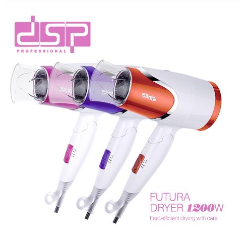Туристический складной фен для волос DSP 30077 Фиолетовый