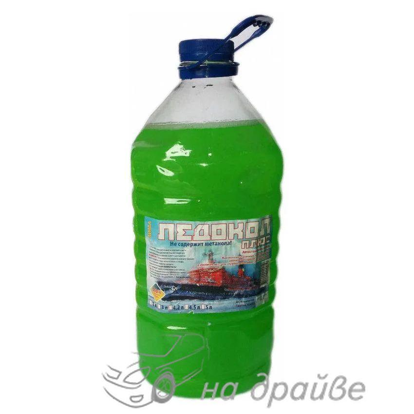 Омыватель стекла зимний Ледокол 5л (-25°C) Яблоко