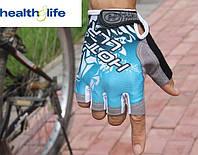 """Велоперчатки, велорукавички, спорт, велоперчатка """"антиудар"""", нескользящие фирма Zacro размер XL"""