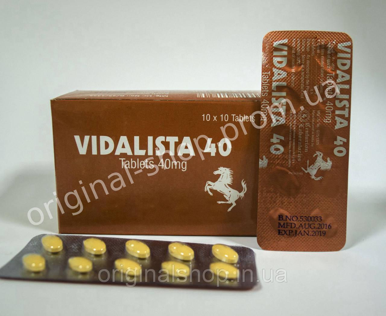 Капсулы для потенции Vida 40