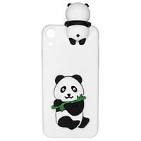 Чехол Cartoon 3D Case для Huawei Y6 II Панда