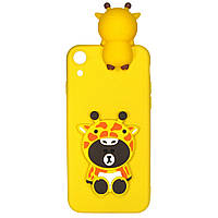 Чехол Cartoon 3D Case для Huawei Y6 II Жираф