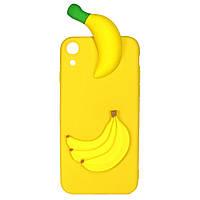 Чехол Cartoon 3D Case для Huawei Y6 II Бананы