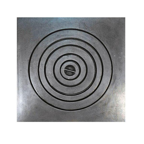 Чавунна плита для казана, тандира, варильна поверхня для печі 540 х 540мм, 102500
