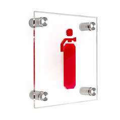 Пожарная табличка