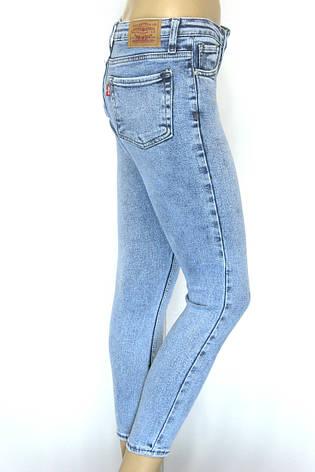 Жіночі джинси Levis skinny, slim, фото 2