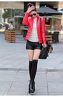 Яркая стильная демисезонная женская курточка
