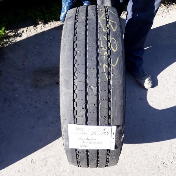 Шины б.у. 235.75.r17.5 Michelin X Multi Мишлен. Резина бу для грузовиков и автобусов