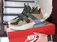 Кроссовки Мужские Хит Весна Бежевые в стиле Nike Air Force