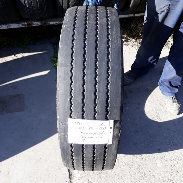 Грузовые шины б.у. / резина бу 265.70.r19.5 Continental HSR1 Континенталь