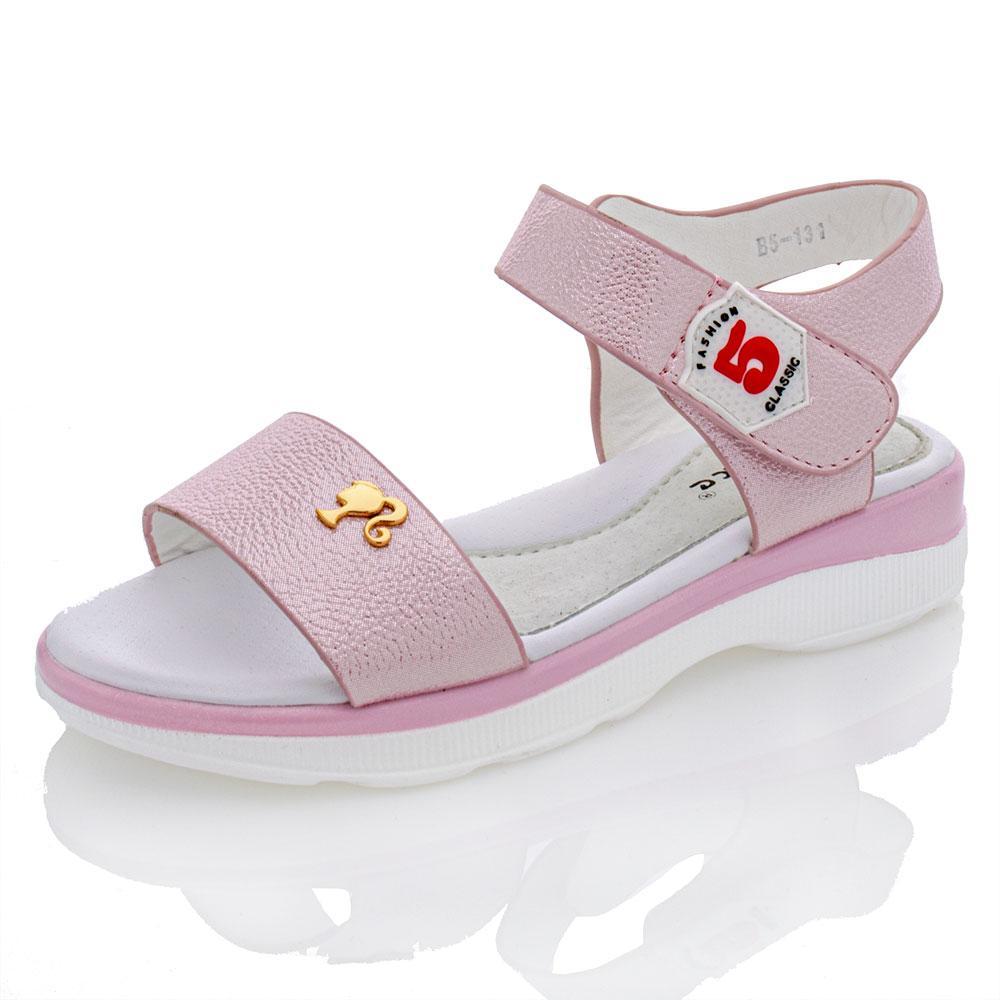 Босоножки для девочек Yalike 28  розовый 980964