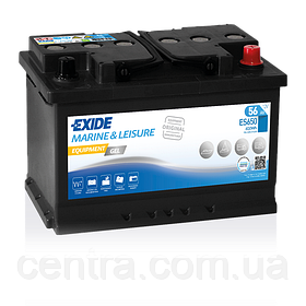 Аккумулятор Exide Leisure  6СТ-56 ES650 EQUIPMENT GEL