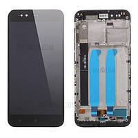 Дисплейный модуль Xiaomi Mi 8 with touch screen and frame black original Китай