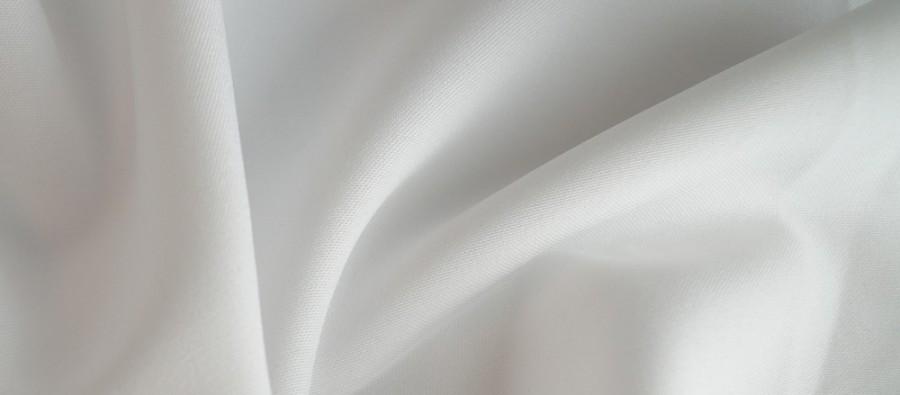 Ткань Габардин белый TG-0017