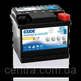 Аккумулятор Exide Leisure  6СТ-40 ES450 EQUIPMENT GEL
