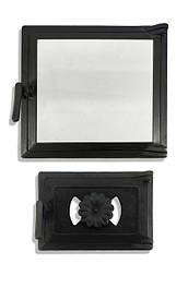 Дверцы в комплекте, топочная и поддувальная