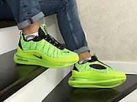Кроссовки для Мужчин Хит Весна Салатовые в стиле Nike Air Max 720