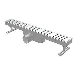 Трап линейный нержавеющая сталь NOVA 5102 (65 мм х 400 мм)