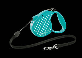 Flexi Standart M поводок-рулетка для собак ( 5м , до 20кг , трос )