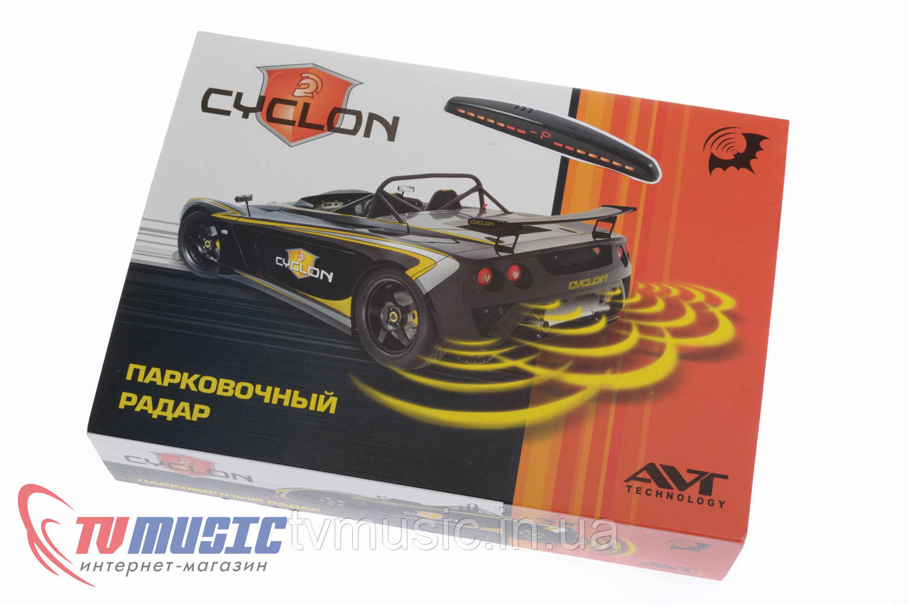 Парковочный радар Cyclon SK-4T Black / Silver
