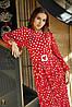 Платье с юбкой плиссе с 42 по 52 размер Весна 2020, фото 9