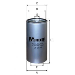 Фільтр паливний RENAULT TRUCKS (RVI),MERCEDES-BENZ Actros I , Atego II , Axor II