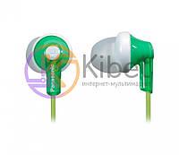 Навушники Panasonic RP-HJE118GU-G Green, Mini jack (3.5 мм), вакуумні, шнур 1,1 м