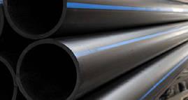 Труба полиэтиленовая 32 мм черная ( 6 атм. 100 м )
