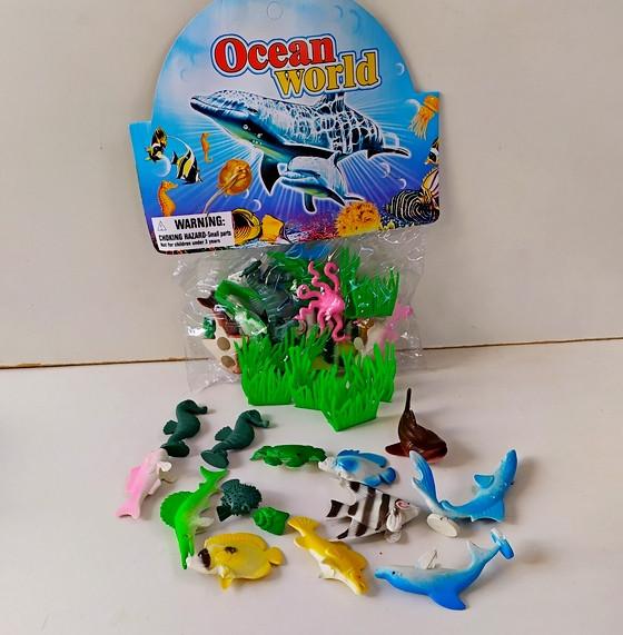 Океанарий рыбки 832В в пакете