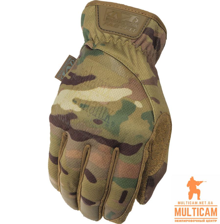 Перчатки Mechanix Wear® MultiCam FastFit® - Multicam®