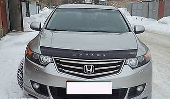 Дефлектор капота (мухобойка) Honda Accord 2008-2012