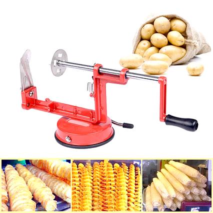 Машинка для різання картоплі спіраллю Spiral Potato, фото 2