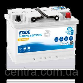 Аккумулятор Exide Leisure  6СТ-80 ET550 EQUIPMENT