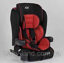 Детское автокресло система ISOFIX Joy 96710 Черно-красное