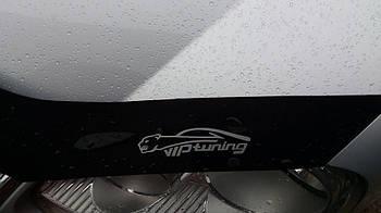 Дефлектор капота (мухобойка) Renault Trafic 2001- /короткий