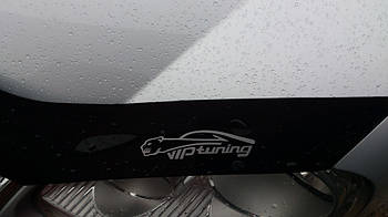 Дефлектор капота (мухобойка) Fiat Ducato с 2014- /с заходом на фары