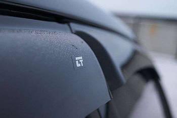 Дефлекторы окон (ветровики) Audi Q7 5d 2015