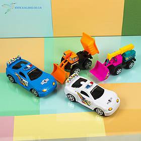 Дитячі машинки, трактори