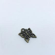 """Декоративна підвіска """"Метелик """", 1 шт., бронза, 15х10 мм"""