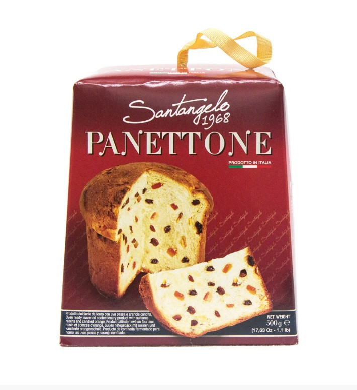 Паска Santagelo PANETTONE tradizionale 500г